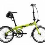 MINI Folding Bike Lime. (10/2012)