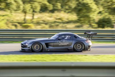 """Mercedes-Benz SLS AMG GT3 """"45th ANNIVERSARY"""" Fotonummer: 12C1041_100 Dateigröße: 4,411 MB Dateigröße, niedrig: 0,019 MB Datum: 22.10.2012"""