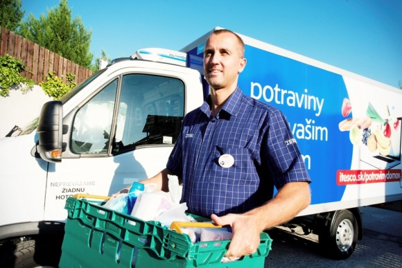 Tesco launches online grocery shopping in Slovakia