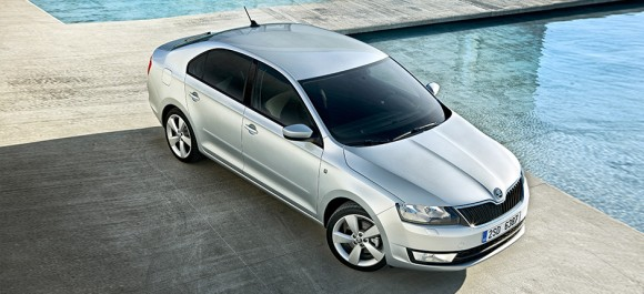 ŠKODA Rapid wins 'Auto Trophy 2012'