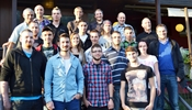Successfully completed training: 19 Zumtobel Group apprentices and their instructors celebrated the good results.