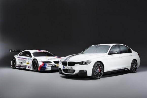 BMW M3 DTM, BMW 335i retrofitted with BMW M Performance Parts (10/2012)