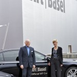 BMW at Art Basel with Annette Schönholzer and Marc Spiegler, Directors of Art Basel. (06/2012)