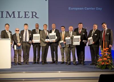 Daimler verleiht European Carrier Awards 2012