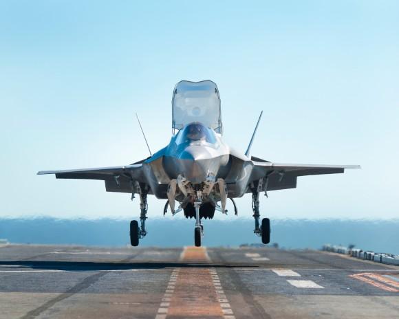 Rolls-Royce congratulates US Marine Corps for first F-35B Lightning II operational squadron -- F-35B Lightning II aircraft (Copyright Lockheed Martin Corporation©)