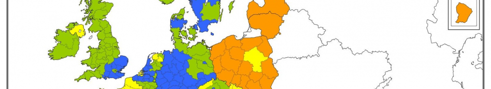 Figure 1: Innovation performance by regions