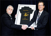 Fokker celebrates 1000th ship set delivery of Forward Avionics Bays for the Boeing Apache helicopter