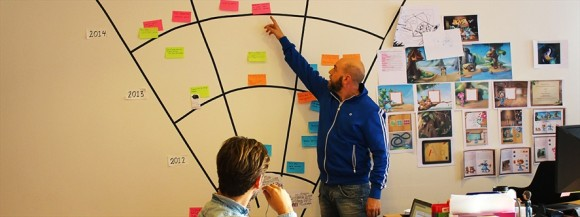 Graphic designer Jonas Sonne presents the plan