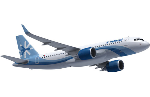 Interjet, A320neo (c) Airbus