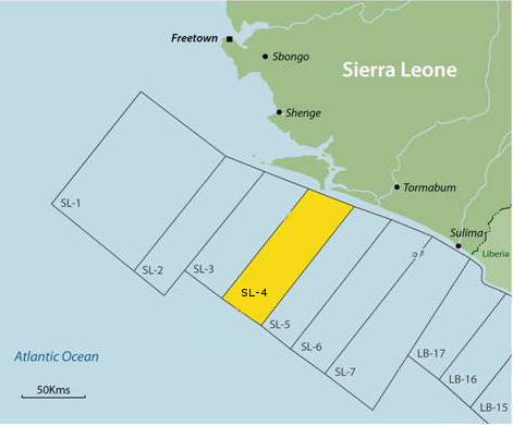 LUKOIL JOINS UPSTREAM PROJECT OFF SIERRA LEONE SHORE IN THE GULF OF GUINEA
