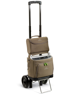 Philips Respironics SimplyGo portable oxygen concentrator receives FAA-approval; oxygen patients can fly with SimplyGo