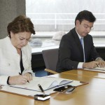 Signature ICO/EIB ICO's Chairman, Román Escolano and EIB Vice-President Magdalena Álvarez Arza Luxembourg 22/11/2012
