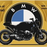 Sketch: 2013 - New BMW Boxer Motorcycle. (11/2012)