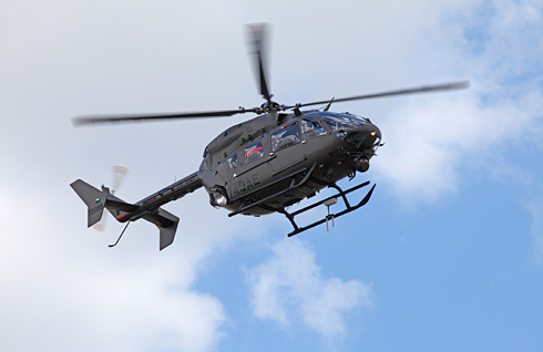UH-72A Lakota in the Security and Support Battalion configuration (Copyright EADS-North America)