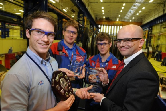 Alstom's Rugby factory celebrate rising stars