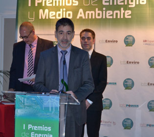 Miquel Cabré, who participated in the name of 4,000 Alstom Spain employees and 1,500 Alstom Wind staff worldwide, received the prize