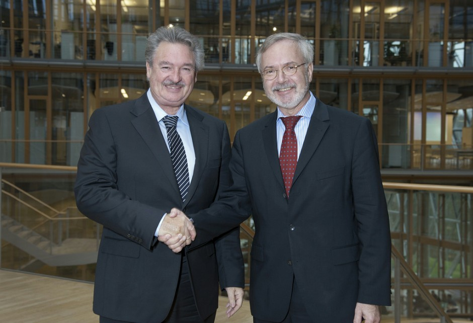 Meeting with Minister Jean Asselborn, Luxembourg Deputy Prime Minister and Minister of Foreign Affairs (Luxembourg)Luxembourg