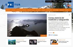 Nace www.efetur.es, el portal de EFE sobre turismo y para el viajero