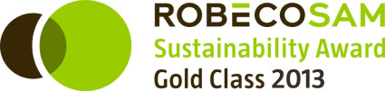 "The 2013 Sustainability Yearbook placed Henkel in its ""Gold Class"" within the ""Nondurable Household Products"" category."
