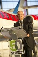 Eric Trappier, Chairman and CEO of Dassault Aviation as  Company Marks 50th Anniversary