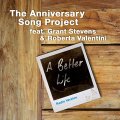Front cover of the anniversary song A better life