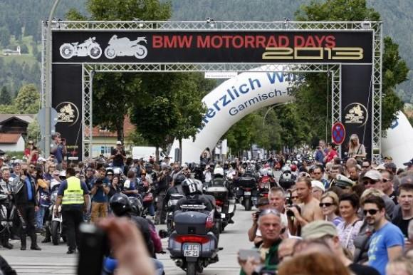 BMW Motorrad Days 2013 in Garmisch-Partenkirchen (07/2013)