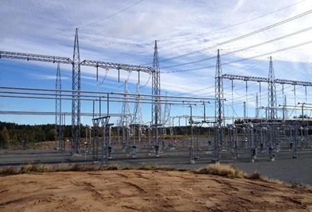 Barkeryd Electrical substation Sweden