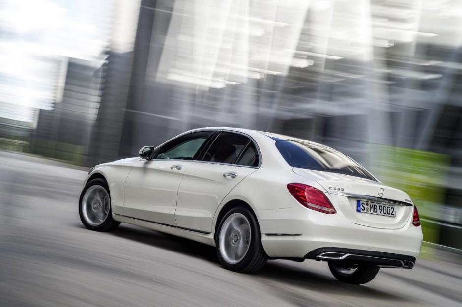 Mercedes-Benz new C-Class, C 250 BlueTEC, Avantgarde, exterior