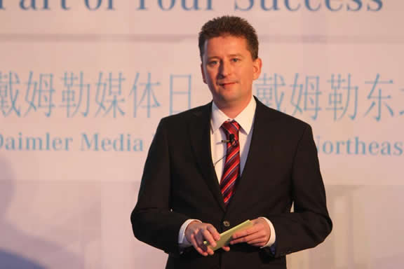 Jan Fischer, CEO Daimler Northeast Asia Parts Trading and Services Co., Ltd. (DPTS)