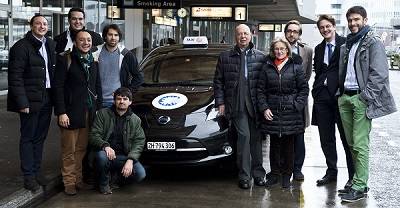 Global Shapers Community's Zurich Hub launched the first zero-emissions electric cab fleet in the Swiss city