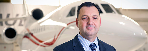 Rob Connolly appointed Director of Aircraft Specifications and Design at Dassault Falcon Jet in Teterboro, NJ