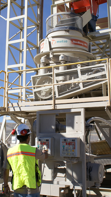 Reliability in performance with Metso's HP4 cone crusher has incited Franzefoss Steinskogen quarry in Norway to pursue collaboration for their new secondary and tertiary installation.