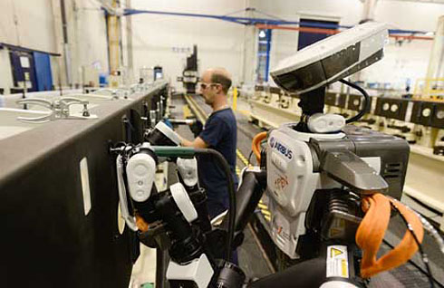 Airbus invests in robotics as part of its commitment to innovation (c) Airbus