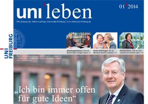 Die neue Ausgabe der Freiburger Universitätszeitung uni'leben ist erschienen