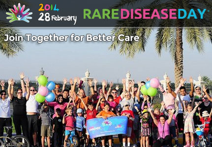 EURORDIS: Participants in over 80 countries join together for better care on the Rare Disease Day 2014