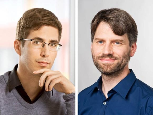 Wilhelm Auwärter and Thomas Misgeld receive ERC Consolidator Grants. (Photo: A. Eckert / TUM)