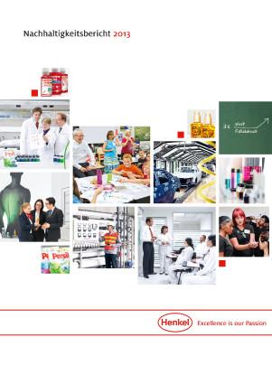 Titelbild: Nachhaltigkeitsbericht 2013