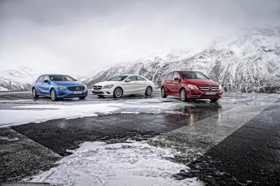 Mercedes-Benz introduces seven new versions of the A, B and CLA-Class now with 7 percent lower fuel consumption