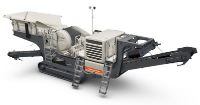 Lokotrack_LT106: The strong industrial design inputs are visible in the honorable mention award-winning Lokotrack LT106, Metso's mobile crushing plant.
