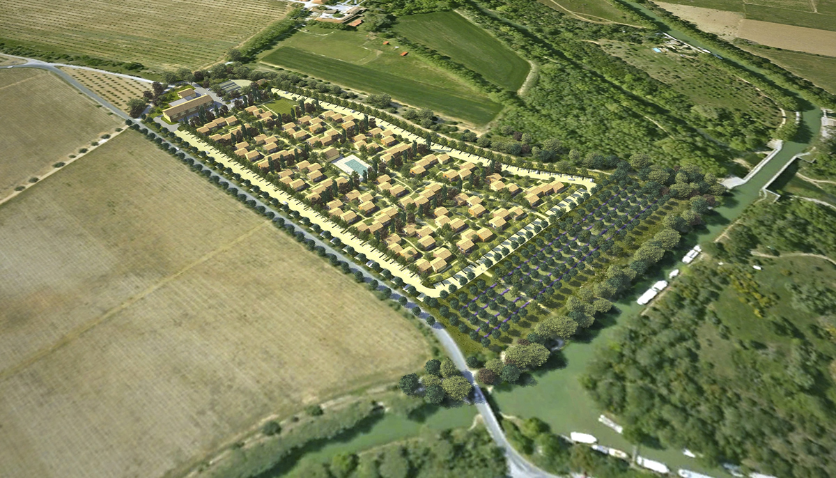 Le Village-Canal du Midi