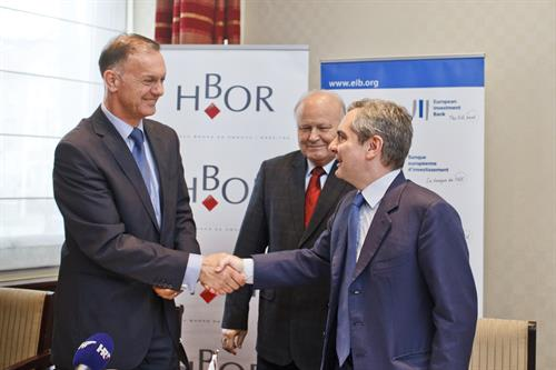 European Investment Bank and Croatian Bank for Reconstruction and Development signed EUR 800 Million loan for SMEs and innovation
