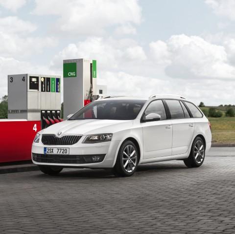 New ŠKODA Octavia with CNG natural gas drive debuts in Geneva