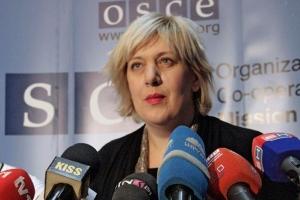 OSCE Representative on Freedom of the Media Dunja Mijatović (OSCE/V. Pribilović)