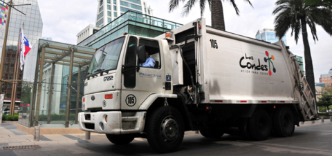 Veolia Environnement's Latin American subsidiary Proactiva Medio Ambiente renewed household solid waste collection service for Las Condes in Santiago de Chile