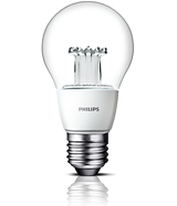 Royal Philips launched the world's first LED bulb with innovative lens in the shape of the traditional incandescent light bulb