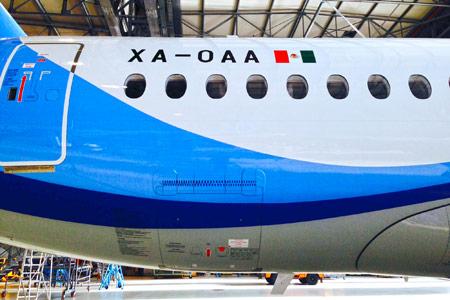 SuperJet International SpA delivered the 6th Sukhoi Superjet 100 to Interjet in Mexico