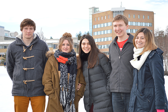 Umeå University ranked first in Europe and ninth in the world for student satisfaction according to latest International Student Barometer
