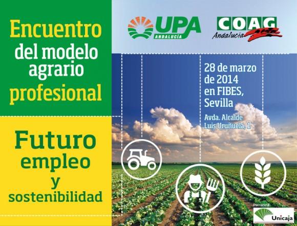Cartel anunciador del Encuentro del Modelo Agrario Profesional