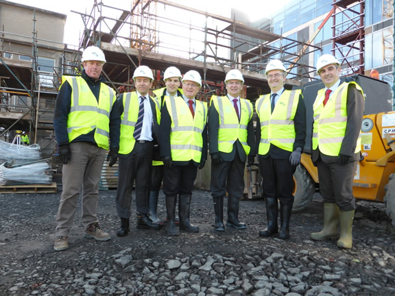 University of Ulster's key campus development works secured with £150 million loan from the European Investment Bank