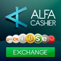 ALFAcashier ist eine völlig neue und bequeme Möglichkeit, Bitcoins in USD/EURO zu tauschen